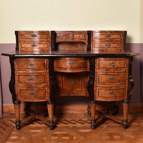 18th Century Italian walnut Mazarin