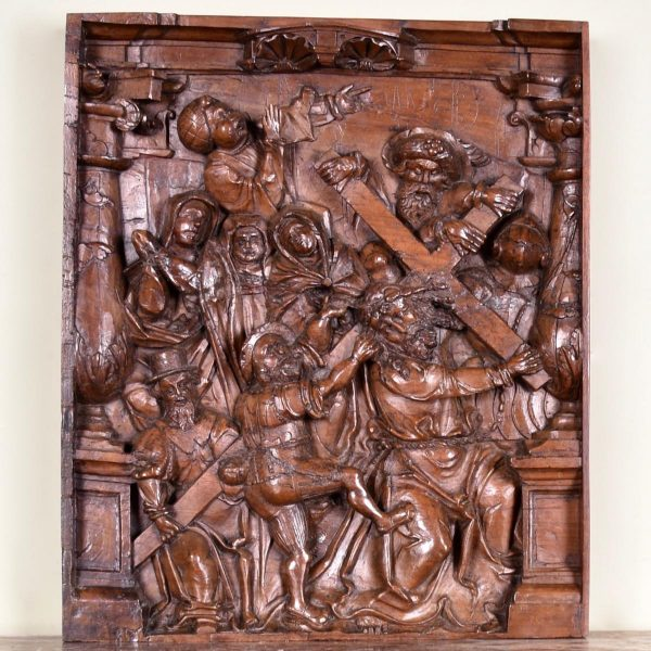 South German relief 'Christ Carrying the Cross'