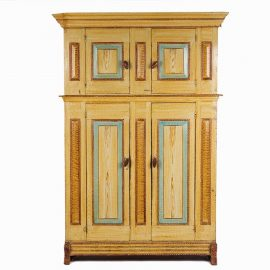 duth painted cupboard - Antique Cupboard