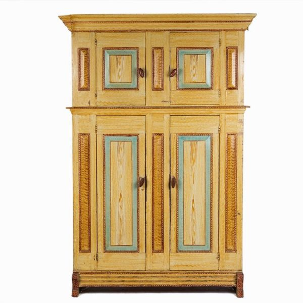 Duth painted cupboard