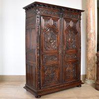 antique-in-belgium-walnut-cupboard3