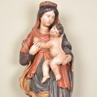 Madonna with child, 17th C – Flemish Haute Epoque