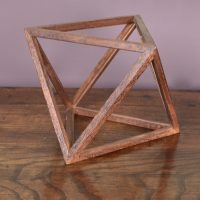 wooden prisma in the form of triangles