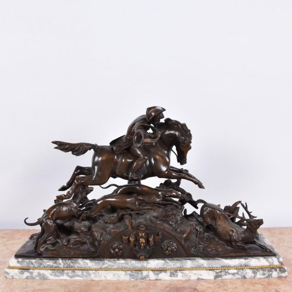 19th century bronze, signed by PIERRE-JULES MENE