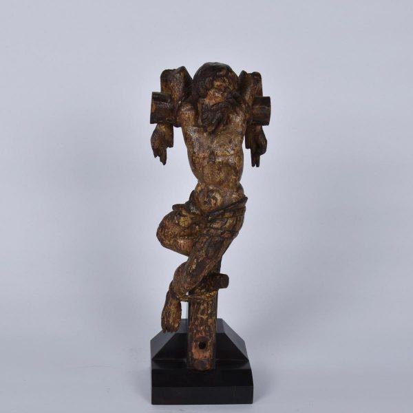"""""""Le mauvais larron"""" 16th century Flemish sculpture"""