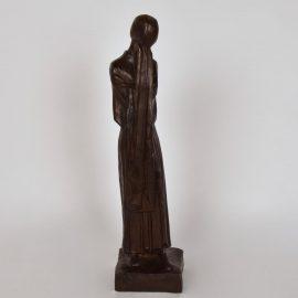 """Pleureuse"" Bronze Sculpture CANTRE JOZEF"