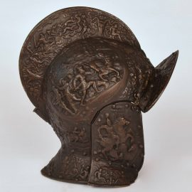 Antique 19th century Helmet after a 16th century model