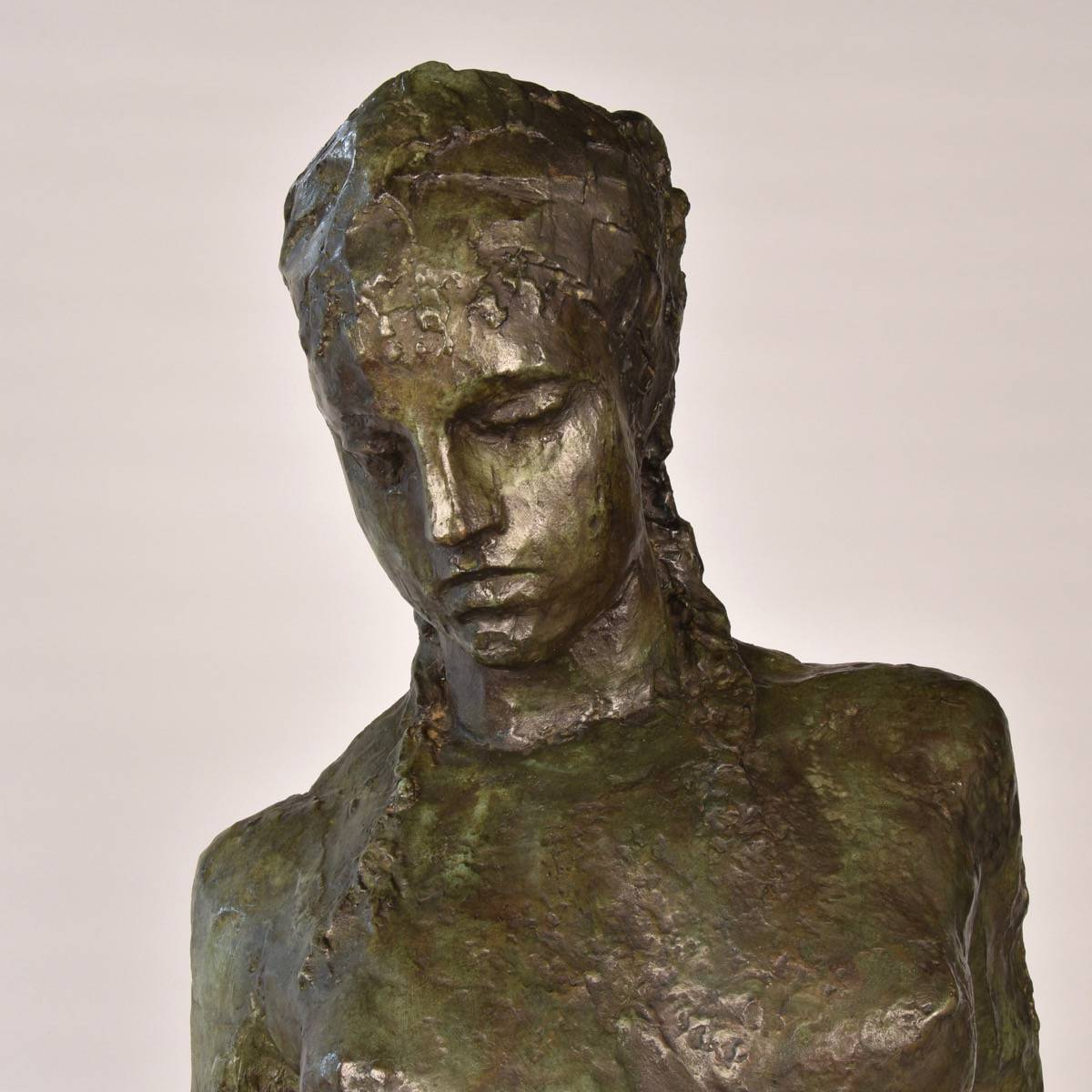 Signed Bronze E Wijnants Paul De Grande Antique