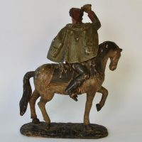17th century sculpture of a Hungarian rider