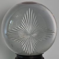 Antique pharmacist globe