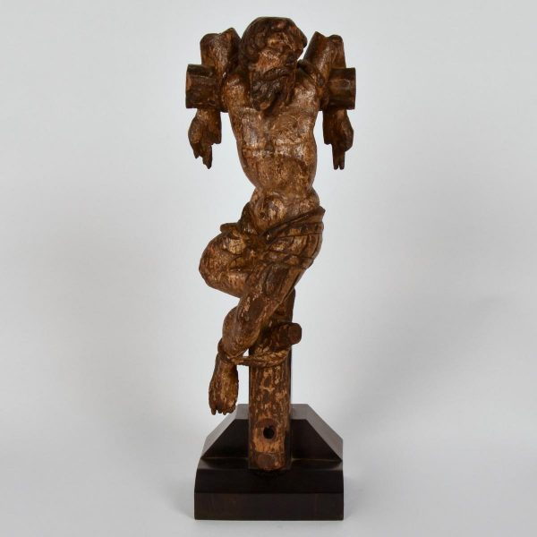 16th century sculpture of Dismas