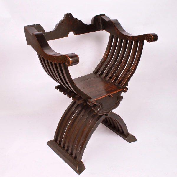 Walnut armchair circa 1700