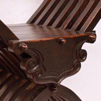 Antique Walnut armchair 1!th century