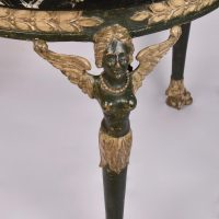 Antique Classical style marble top gueridon