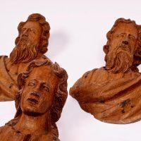 Flemish oak 17th century Apostles