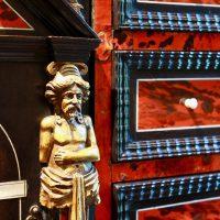 Impressive antique cabinet – 19th century