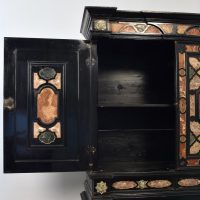 Antique Italian marble inlay cabinet circa 1840