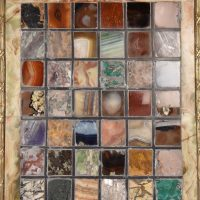 Marble collection panel