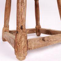Rustic stool flemish