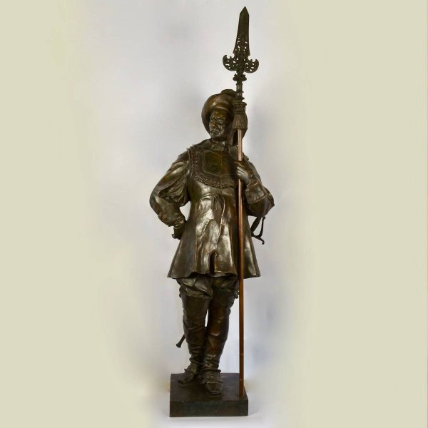 Interesting bronze figure, 19th century