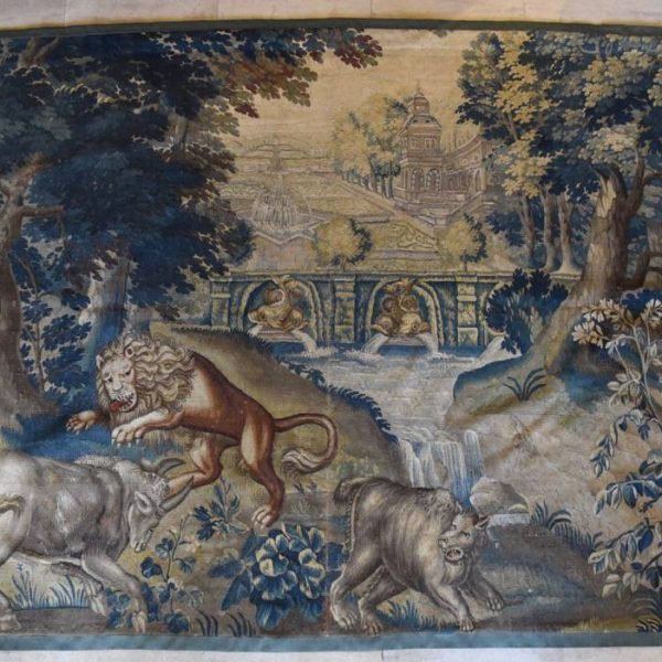 Brussels 17th century tapestry