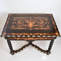 Italian 19th Century marquetry Table