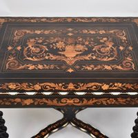Antique Italian marquetry Table
