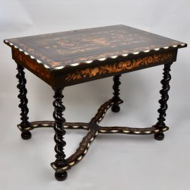 19th Century Italian marquetry Table