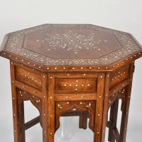 Oriental bone inlaid table