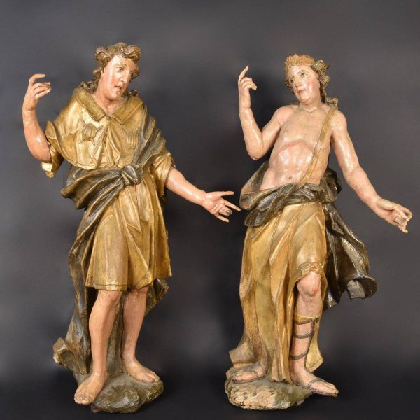 pair of Austrian 17th century figures