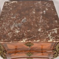 French rosewood 19th commode