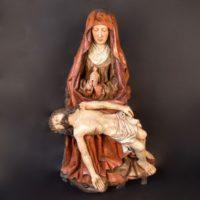 Haute epoque Pieta, Flemish