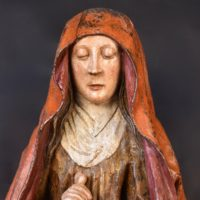 Pieta, Flemish circa 1500