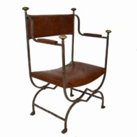 forged-iron-chairs-leather-upholstery6