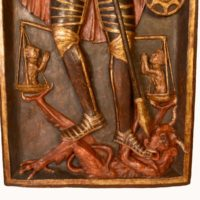 wooden-relier-panel-saint-michel-15th-century-polychrome2