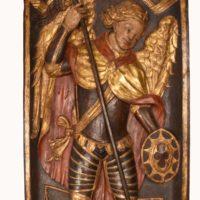 wooden-relier-panel-saint-michel-15th-century-polychrome3
