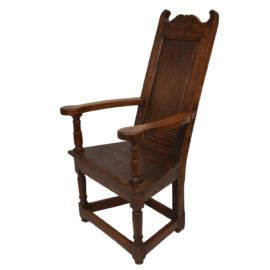 18th Century High back Herve armchair