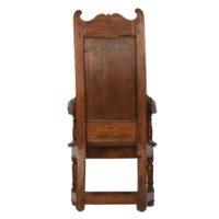 18th Century High back Herve armchair