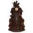 Eaborate carved clock