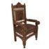 Moorish style armchair