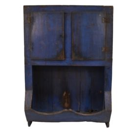 Scandinavian blue country cabinet