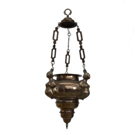 Early bronze pendant lamp