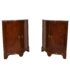 Pair of 18th Century French corner cabinets