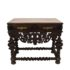 Portugese table with marble top