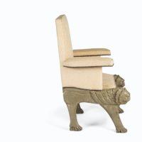 lion head armchair1