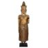 Gilded wood Buddha