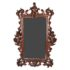 19th Century Italian walnut mirror